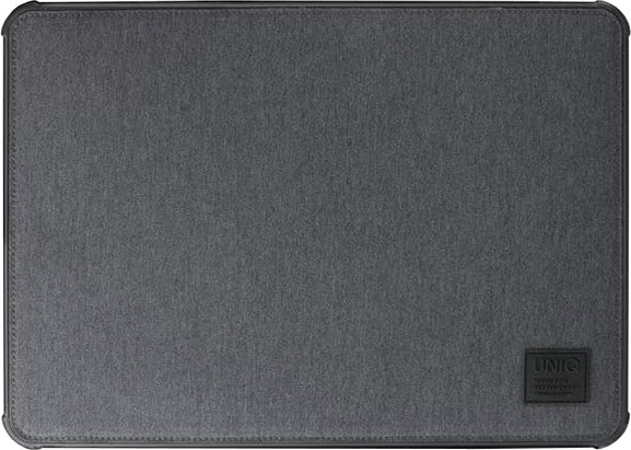 UNIQ dFender Tough LaptopSleeve (Up to 15 Inche), marl grey