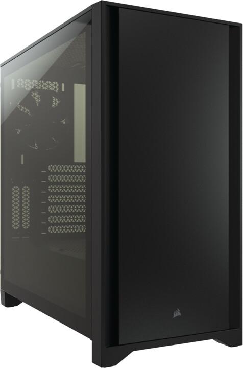 Corsair 4000D, černá
