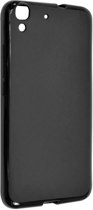 FIXED pouzdro pro Huawei Y6, černá