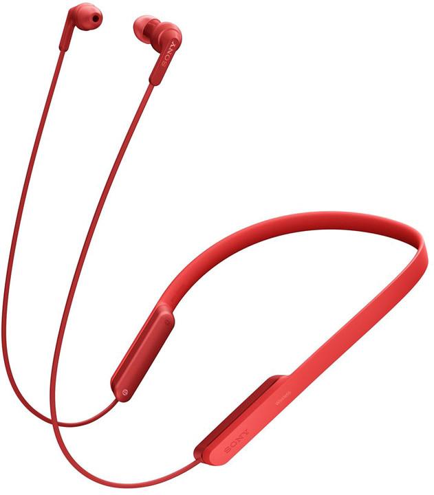 Sony MDR-XB70BT, červená