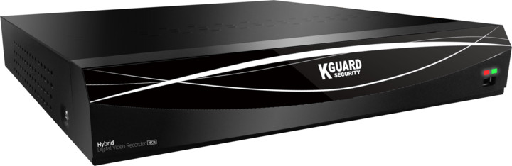 KGUARD hybridní rekordér HD1681, 16+8 (CCTV+IP) kanálový