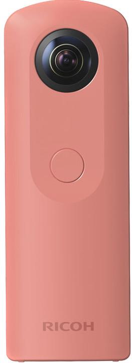 RICOH Theta SC, 360° kamera, růžová