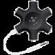 Belkin RockStar rozbočovací adaptér 5 portů 3.5 jack pro připojení sluchátek - černý