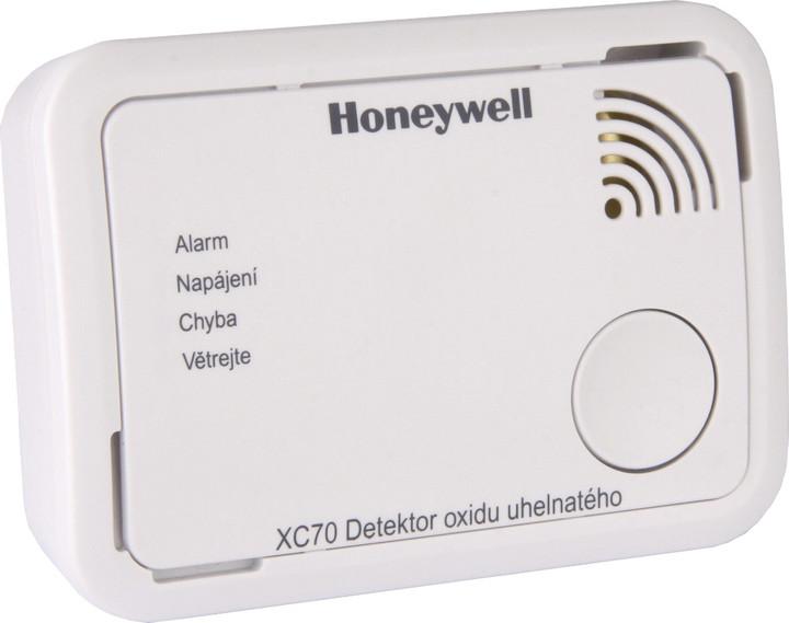 Honeywell XC70-CS, hlásič oxidu uhelnatého, CO alarm