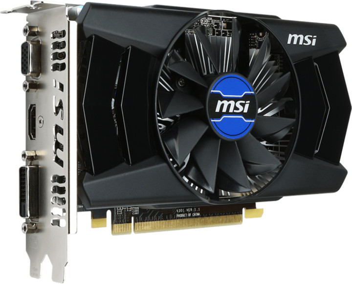 MSI R7 250 2GD3 OCV1, 2GB