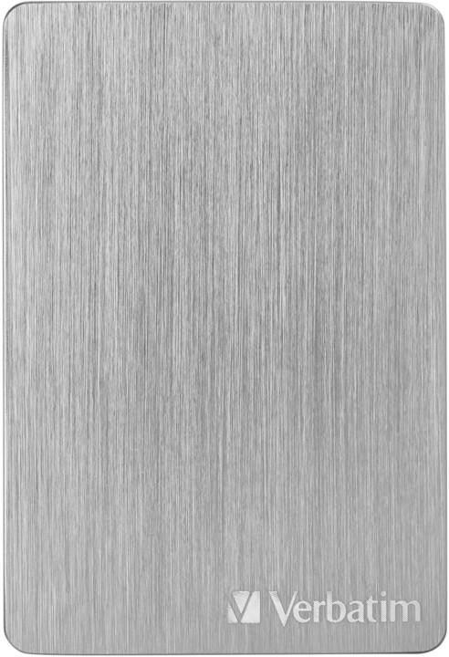 Verbatim Store´n´ Go ALU Slim - 2TB, stříbrná