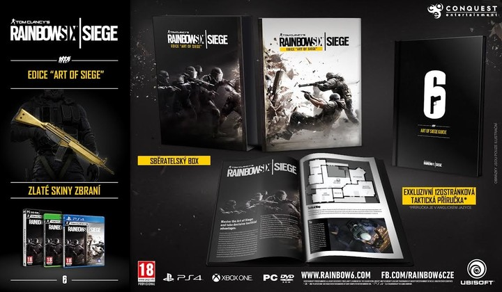 Rainbow Six: Siege - Collector's Edition (Xbox ONE)