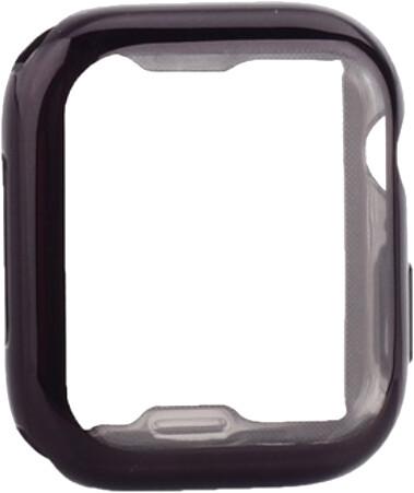 COTEetCI ochranný kryt pro Apple Watch, Fully Plated, 44mm, černá