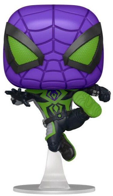 Figurka Funko POP! Spider-Man - Miles Morales Purple Rein Suit Metallic
