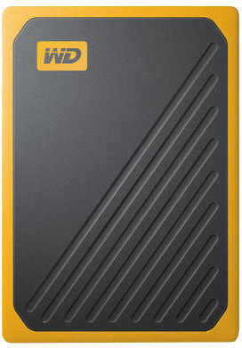 WD My Passport GO - 500GB, žlutá