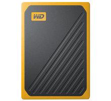 WD My Passport GO - 500GB, žlutá - WDBMCG5000AYT-WESN