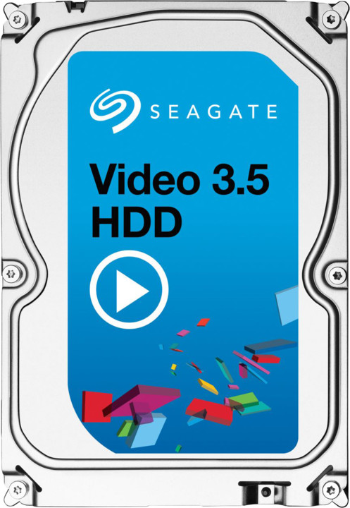 Seagate Video 3.5 HDD - 4TB