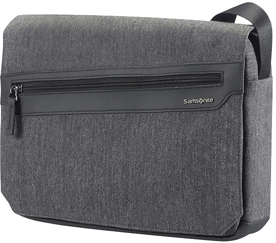"Samsonite Hip-Style 2 - TABLET MESSENGER BAG 10.1"" + FLAP, antracitová"
