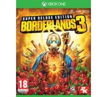 Borderlands 3 - Super Deluxe Edition (Xbox ONE)  + Tričko Borderlands 3 (L) v hodnotě 399 Kč