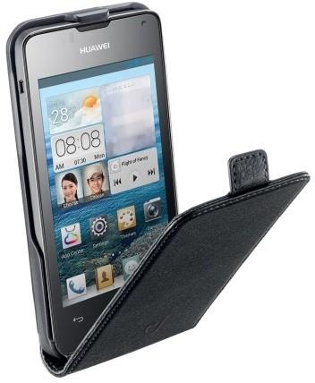 CellularLine Flap Essential pouzdro pro Huawei Ascend Y300, černá