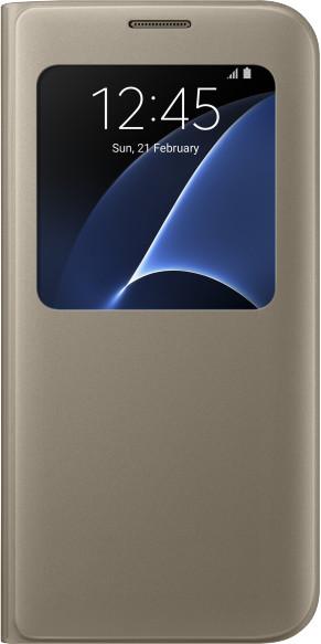 Samsung EF-CG935PF Flip S-View Galaxy S7e, Gold