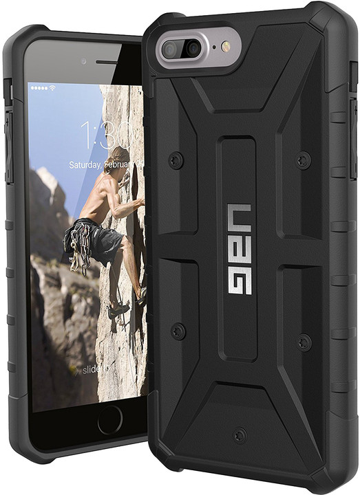 UAG pathfinder case Black, black - iPhone 8+/7+/6s+