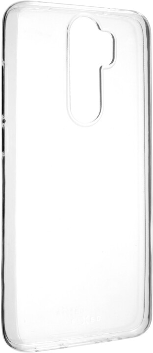 FIXED ultratenké TPU gelové pouzdro Skin pro Xiaomi Redmi Note 8 Pro, 0,6 mm, čiré