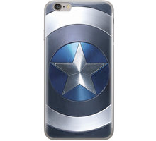 MARVEL Captain America 005 zadní kryt pro Huawei Y7 Prime 2018, modrá
