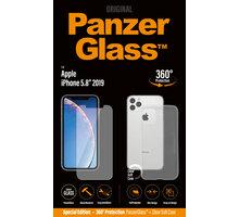 PanzerGlass Standard Bundle pro Apple iPhone 11 Pro, čiré + pouzdro PanzerGlass desinfekční antibakteriální sprej Spray Twice a day, 8ml (v ceně 249,-)