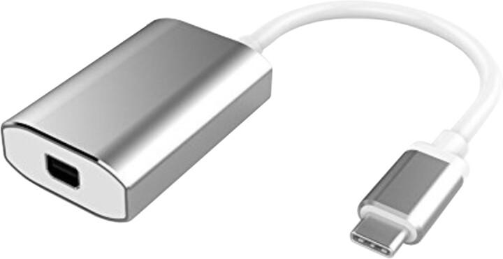 PremiumCord adaptér USB3.1 na mini DisplayPort, rozlišení 4K*2K@60Hz