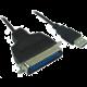 PremiumCord USB printer kabel USB na IEEE 1284