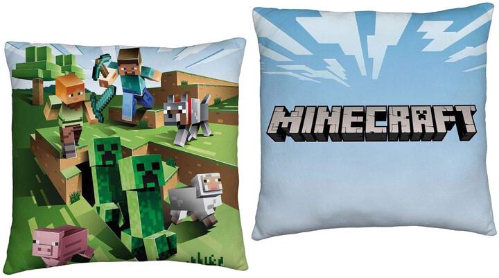 Polštář Minecraft - Caves
