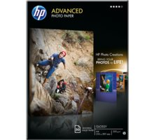 HP Advanced Photo Paper, Glossy, A4, 50 listů, 250 g/m2 - Q8698A