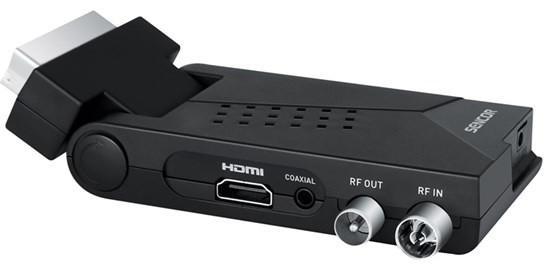 Sencor SDB 550T, DVB-T2, černá
