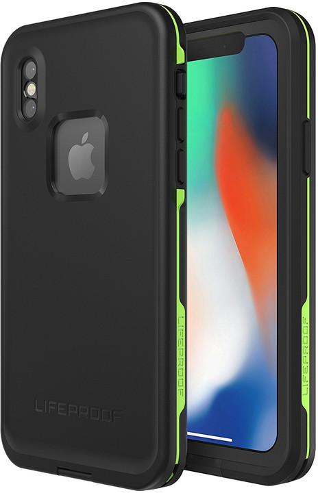 LifeProof Fre ochranné pouzdro pro iPhone X - černé