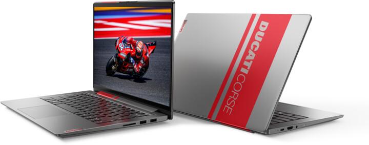 Lenovo Ducati 5, stříbrná + Premium Care na 3 roky