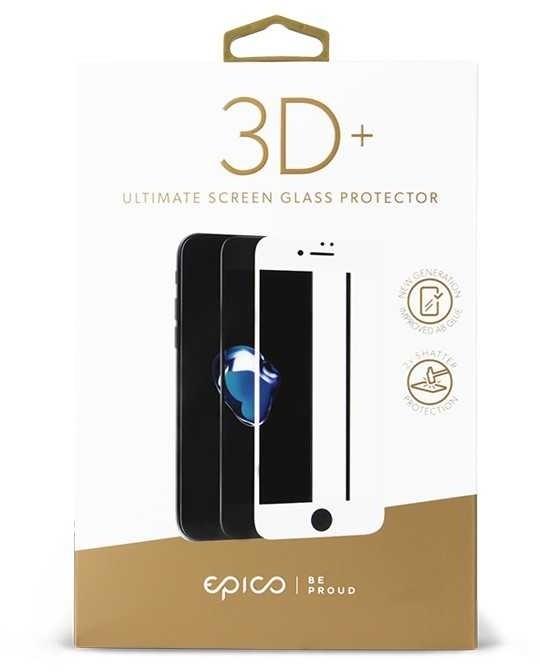 EPICO GLASS 3D+ tvrzené sklo pro Samsung S8 - černé