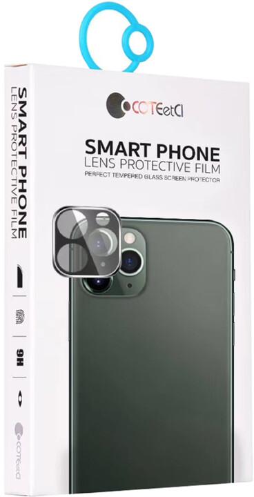 COTEetCI tvrzené sklo fotoaparátu pro Apple iPhone 11, černá