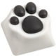 ZOMOPLUS Kitty Paw, MX stem, bílá/šedá