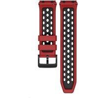Huawei silikonový řemínek pro Watch GT2e, 22mm, červená/černá O2 TV Sport Pack na 3 měsíce (max. 1x na objednávku)