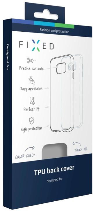 FIXED TPU gelové pouzdro pro Lenovo Vibe B, bezbarvé