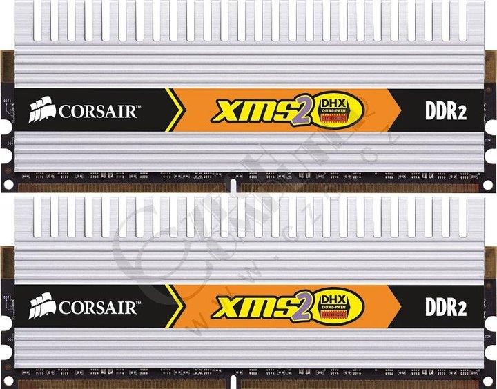 Corsair XMS2 DHX 4GB (2x2GB) DDR2 800 (TWIN2X4096-6400C4DHX)
