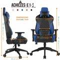 GAMDIAS Achilles E1, černá/modrá