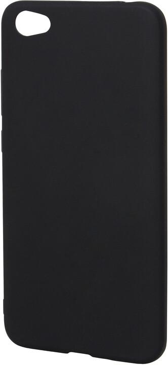 EPICO pružný plastový kryt pro Xiaomi Redmi Note 5A SILK MATT - černý