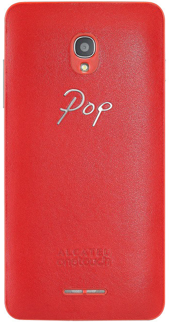 ALCATEL ONETOUCH 5022D POP STAR Leather Case, Red