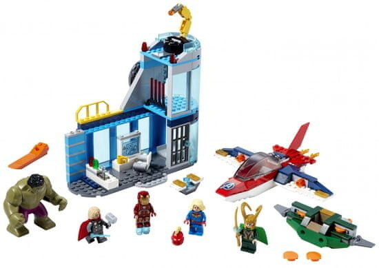 LEGO Marvel Super Heroes 76152 Avengers – Lokiho hněv