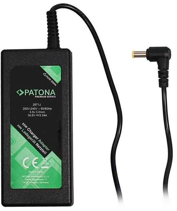 Patona napájecí adaptér k NTB, 19,5V/3,34A, 65W, konektor 4,5x3mm DELL PREMIUM