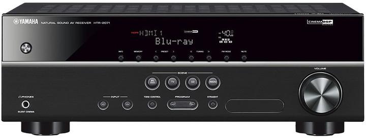 Yamaha HTR-2071, černá