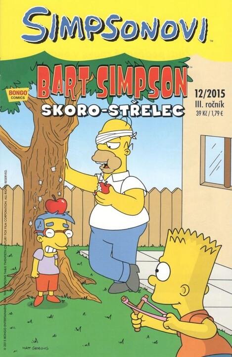 Komiks Bart Simpson: Skoro-střelec, 12/2015