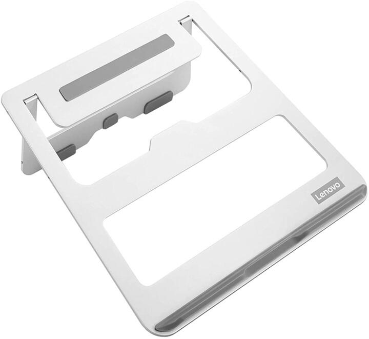 """Lenovo podstavec pro notebook 15"""", hliník, stříbrná"""