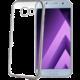 CELLY Laser - pouzdro lemování s kovovým efektem pro Samsung Galaxy A5 (2017), stříbrné