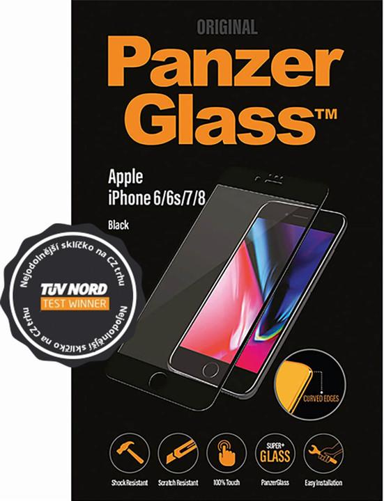 PanzerGlass Edge-to-Edge pro Apple iPhone 6/6s/7/8, černé