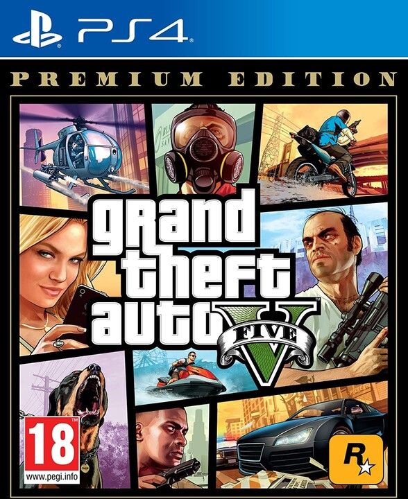 Grand Theft Auto V - Premium Edition (PS4)