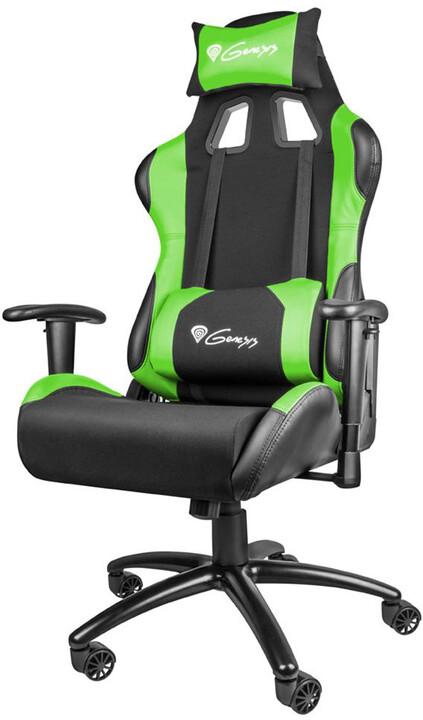 Genesis Nitro 550, černá/zelená