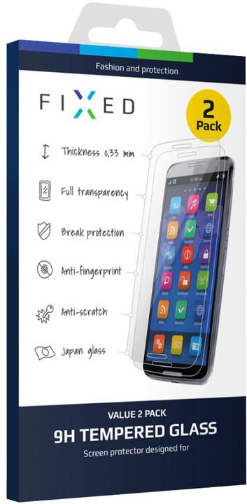 FIXED ochranné tvrzené sklo pro pro Lenovo A7000, 0.33 mm, 2ks